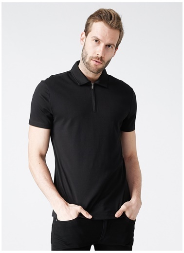Fabrika Fabrika Polo T-Shirt Siyah